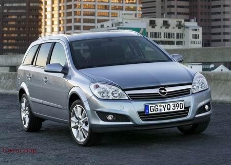 Opel Astra Station Wagon. Facelift del Opel Astra: nuevo