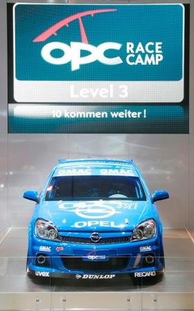 Opel Astra OPC, versión Racing