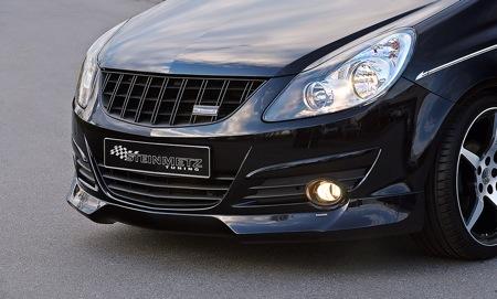 Opel Corsa visto por Steinmetz, más agresivo que el OPC