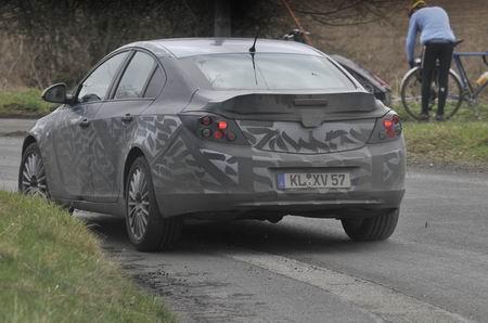 Opel Insignia 2009, fotos espía