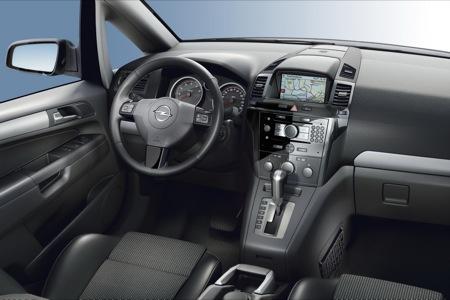 Opel Zafira, renovación para 2008