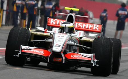 Pedro de la Rosa competirá con Force India en 2009