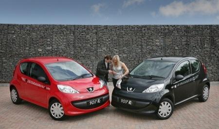 Peugeot 107 KISS FM, edición limitada