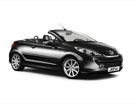 Peugeot 207 CC RC y edición especial Roland Garros