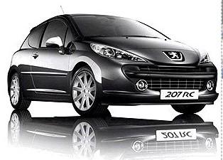 Nuevos datos del Peugeot 207 RC