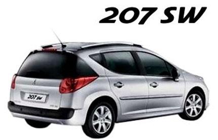 Peugeot 207 SW, fotos oficiales