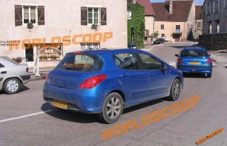 Peugeot 308, fotos espía completas