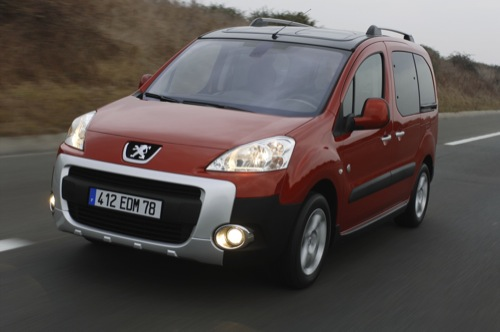 Peugeot partner teepee de 7 plazas