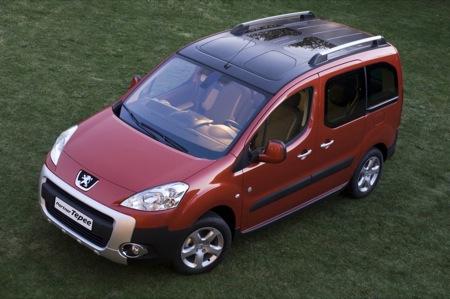 Peugeot Partner y Partner Tepee, presentación oficial
