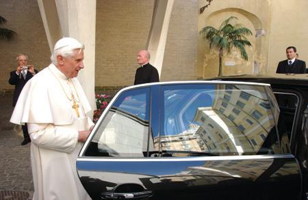 Volkswagen Phaeton del Papa