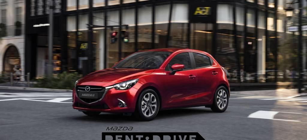 Rent & Drive, un coche nuevo por 6 euros: al día así es el sistema de renting para particulares de Mazda