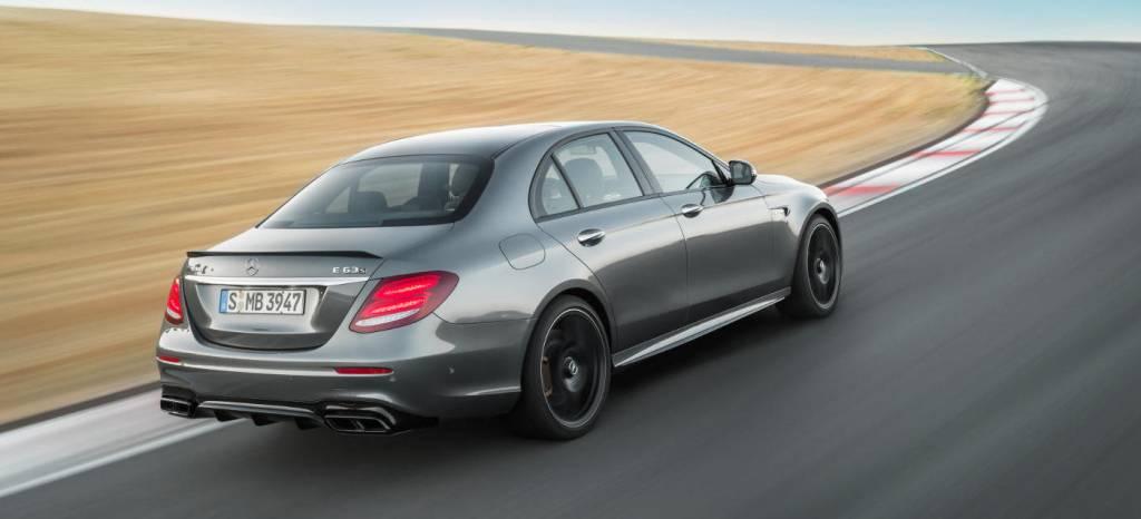 Mercedes-AMG E 63 2017: en vídeo, con 603 caballos y el modo drift dispuesto a devorar nuestros neumáticos traseros