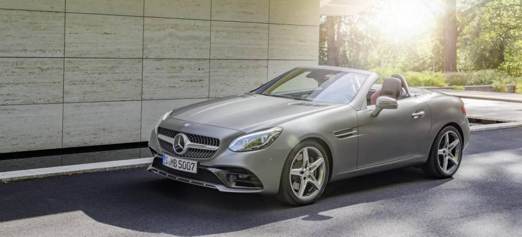 """Del Mercedes SLK al Mercedes SLC, estos son los precios del nuevo """"anti Audi TT Roadster"""" de Mercedes"""