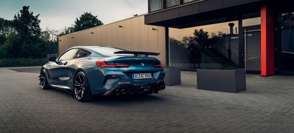 Más músculo y potencia para el BMW Serie 8 cortesía de AC Schnitzer