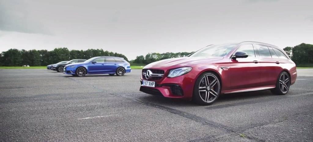 Vídeo: los coches de familia más rápidos del mundo, en una carrera de aceleración sin contemplaciones