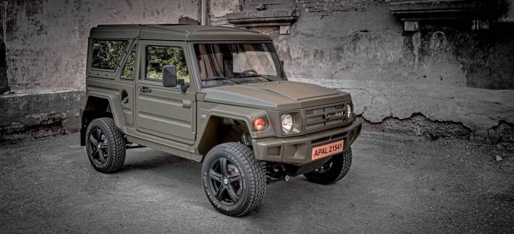 El APAL-21541 Stalker es el Suzuki Jimny ruso que Europa debería disfrutar