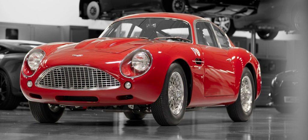 Aston Martin vuelve a producir una tirada muy limitada (y extremadamente cara) del DB4 GT Zagato