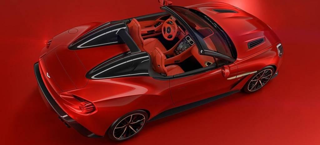 Aston Martin Vanquish Zagato Speedster: una joya cabrio de 600 CV y solo 28 unidades