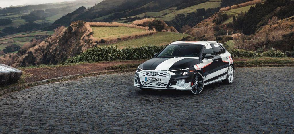 Audi A3 Sportback Prototype Covered Drive thumbnail