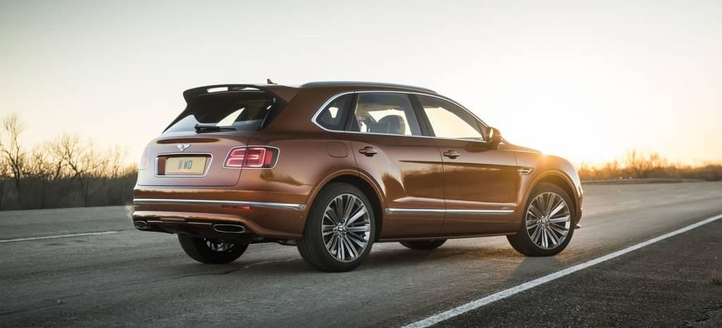 Bentley Bentayga Speed: 635 CV y 306 Km/h para ser el SUV más rápido del mundo