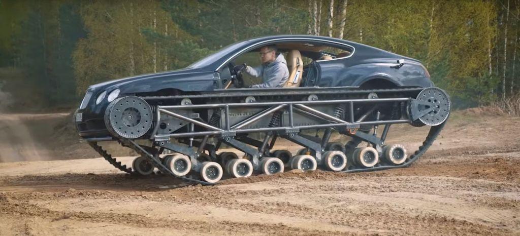 La locura del día es este Bentley Continental GT convertido en un tanque (+vídeo)