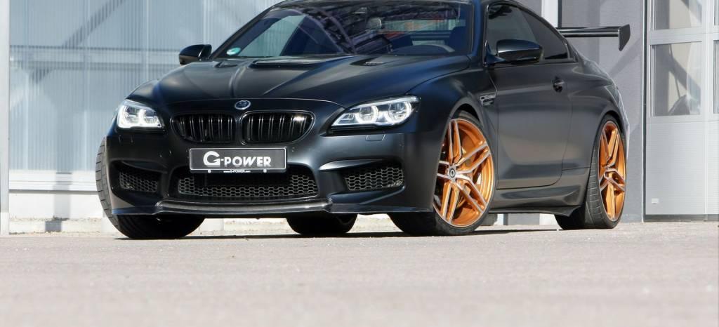 El BMW M6 de G-Power es una bestia de más de 800 CV y 1.050 Nm de par