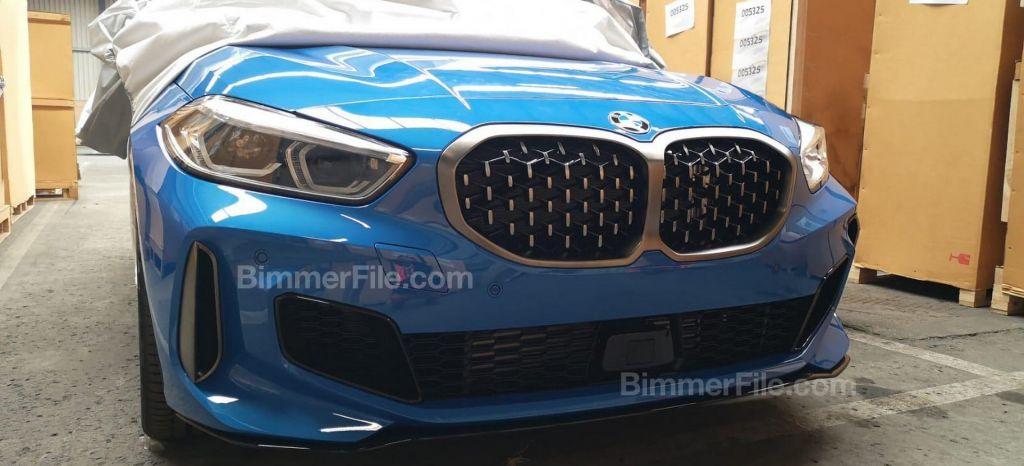 ¡Filtrado! Saluda, sin camuflaje, al nuevo BMW Serie 1 en su versión de más de 300 CV