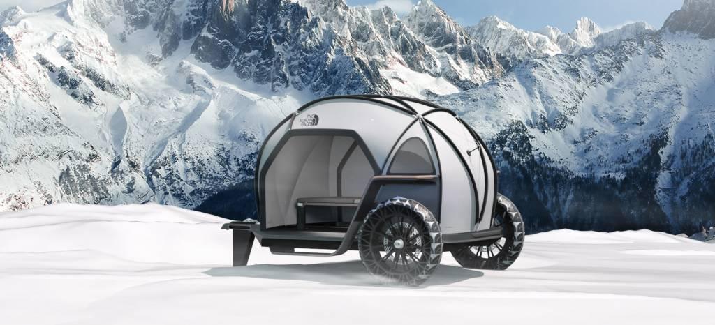 Lo último de BMW es este refugio portátil diseñado para The North Face