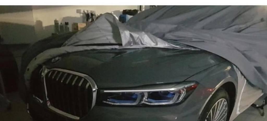 Filtrada la primera imagen del nuevo BMW Serie 7: siguiendo la estela del gigante BMW X7