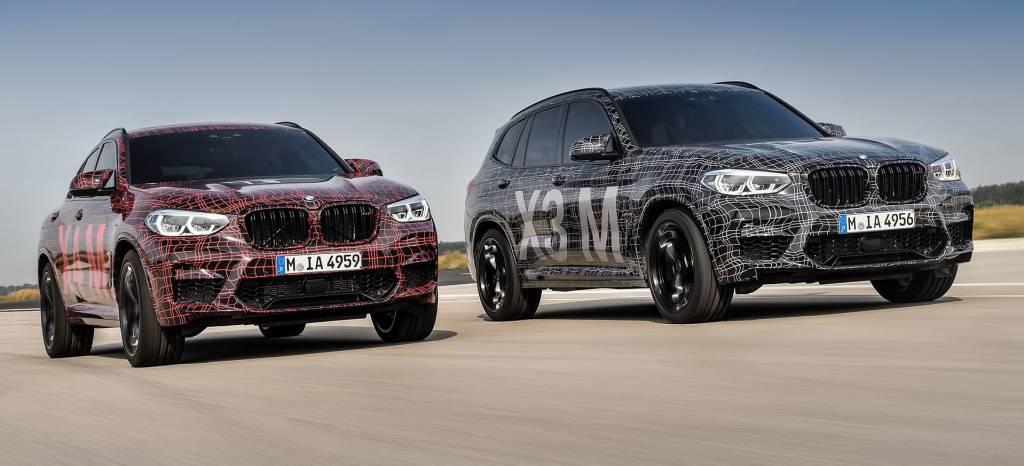 Los nuevos BMW X3 M y X4 M debutan en Nürburgring, con seis cilindros en línea y mucho músculo