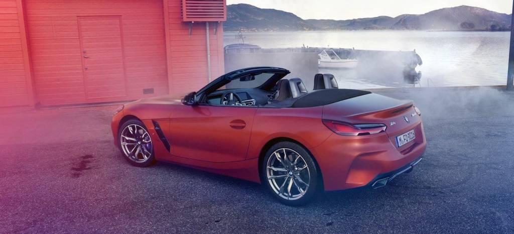 El nuevo BMW Z4 se descubre al completo en estas 8 nuevas imágenes filtradas