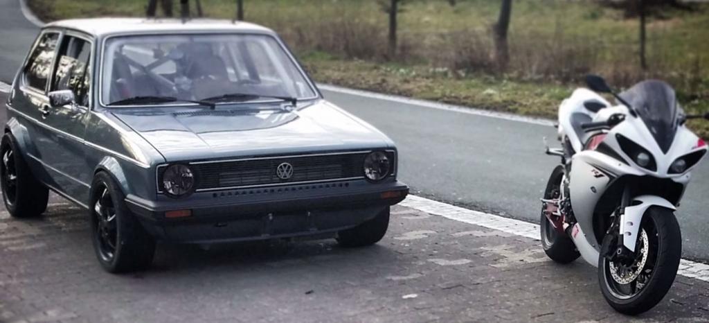 No estás preparado para el Volkswagen Golf Mk1 de 1.056 CV del que hasta los Koenigsegg se esconden