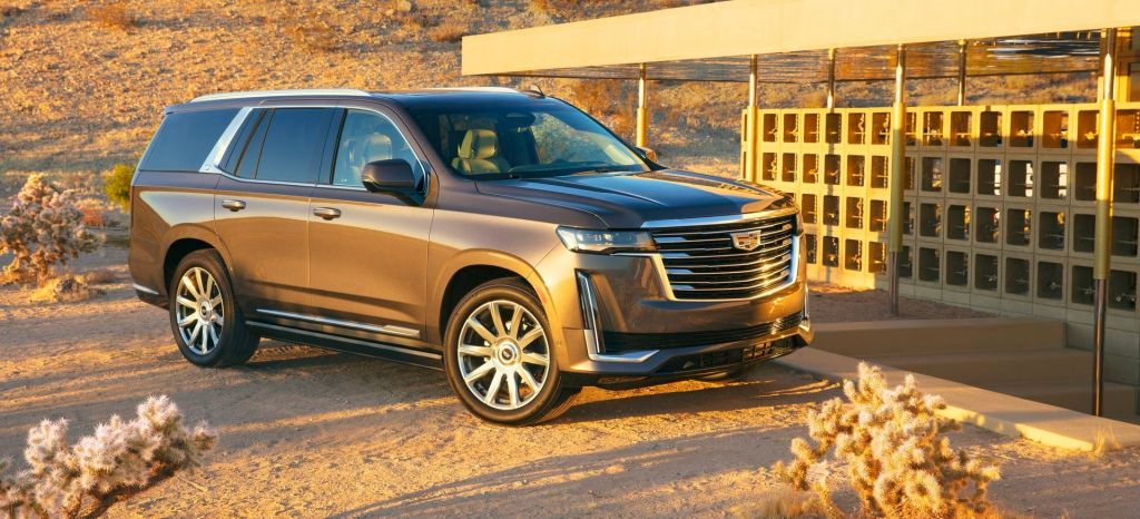 The 2021 Escalade Has The Bold Presence And Exclusive Technology thumbnail