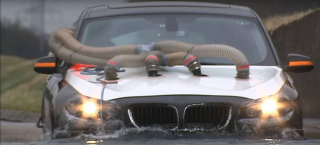 Así se disfrazan los coches de pruebas de BMW para evitar ser vistos antes de tiempo