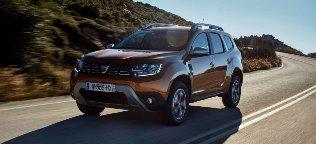 2017 New Dacia Duster Tests Drive In Greece thumbnail
