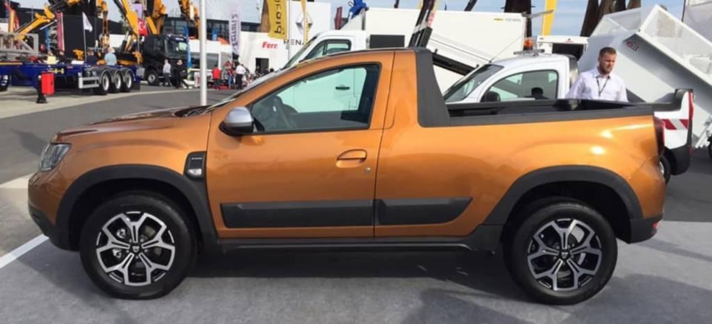 Oficial: el pick-up más barato del mercado llegará en 2019, basado en el Dacia Duster