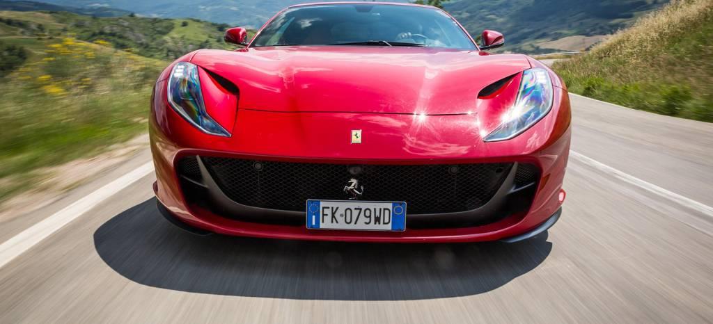 En Septiembre conoceremos al Ferrari 812 Superfast descapotable