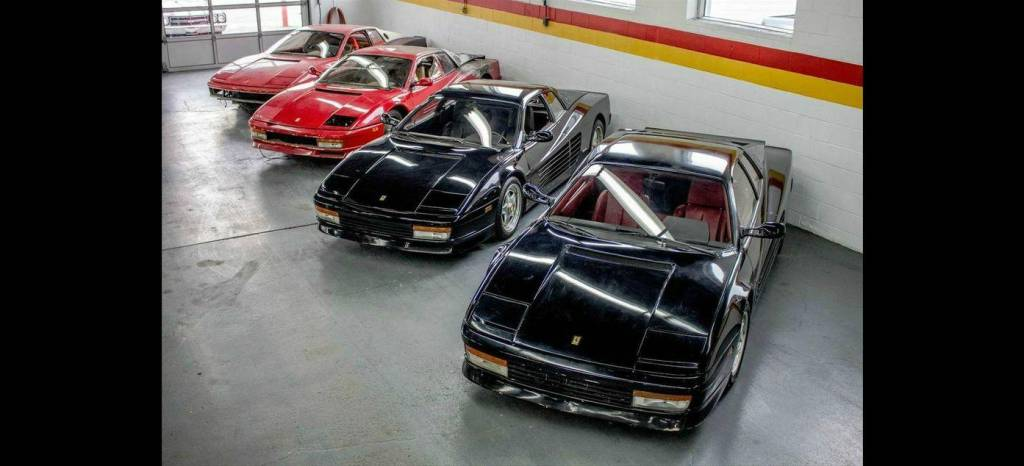 Cuatro Ferrari Testarossa por el precio de uno: aquí hay gato encerrado