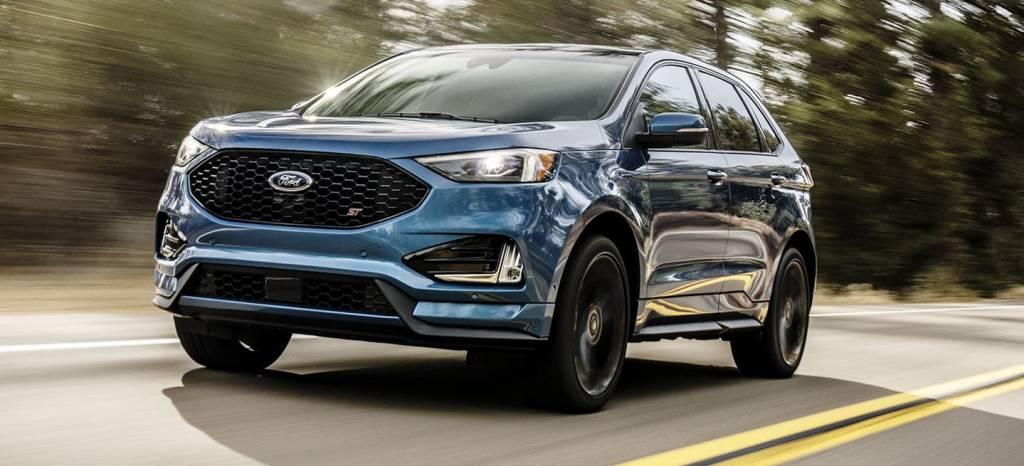 El Ford Edge ST ya está aquí, un SUV deportivo con 340 CV de potencia siguiendo la línea de Fiesta ST y Focus ST (+9 fotos)