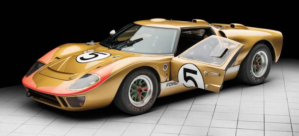 Uno de los tres Ford GT40 que arrasaron en las 24 Horas de Le Mans en 1966 sale a subasta