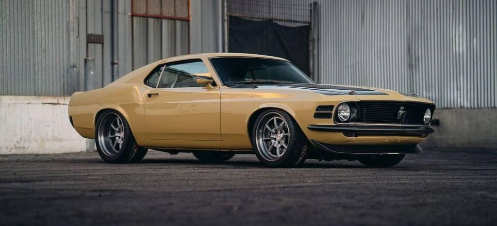 SpeedKore crea un fantástico restomod de Ford Mustang Boss para Robert Downey Jr.