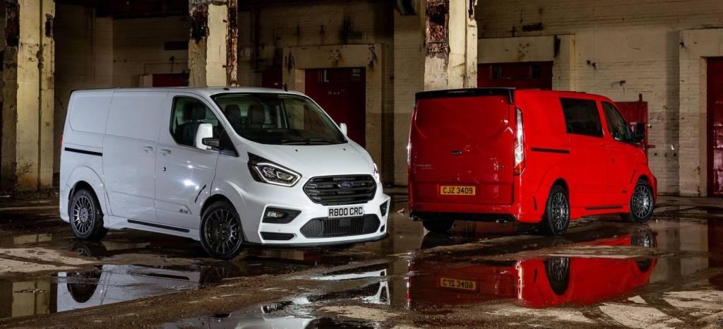 Ford Transit Custom MS-RT: M-Sport te vende la furgoneta más deportiva del mercado