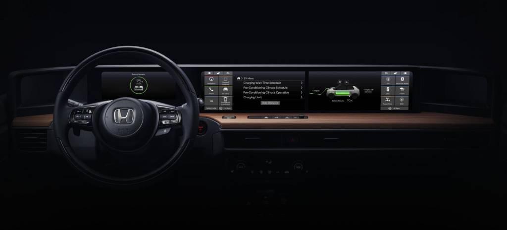 Honda nos enseña el interior de su nuevo coche eléctrico, la evolución del Honda Urban EV