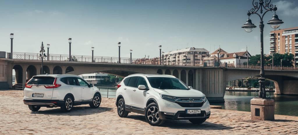 Según Honda, con el nuevo CR-V híbrido nadie echará en falta un motor diésel
