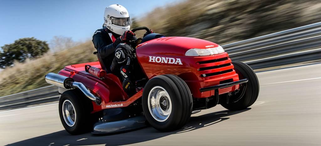 Honda lo ha vuelto a hacer y presentará un cortacesped que supera los 215 km/h