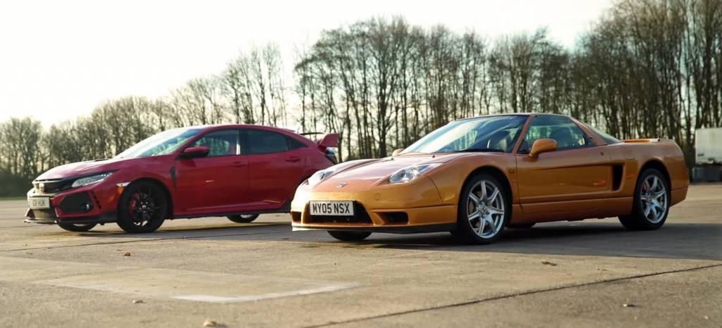 Hagan sus apuestas: ¿Será más rápido el Honda NSX original que el Honda Civic Type R? (+Vídeo)