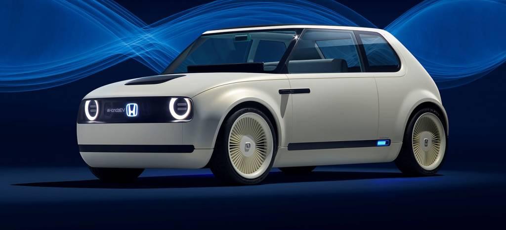 El Honda Urban EV puede ser la solución si querías comprar un Peugeot e-Legend, también es un coche eléctrico con diseño retro