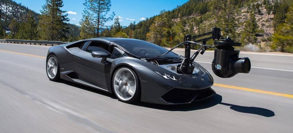 El coche-cámara más rápido del mundo es este Lamborghini Huracán