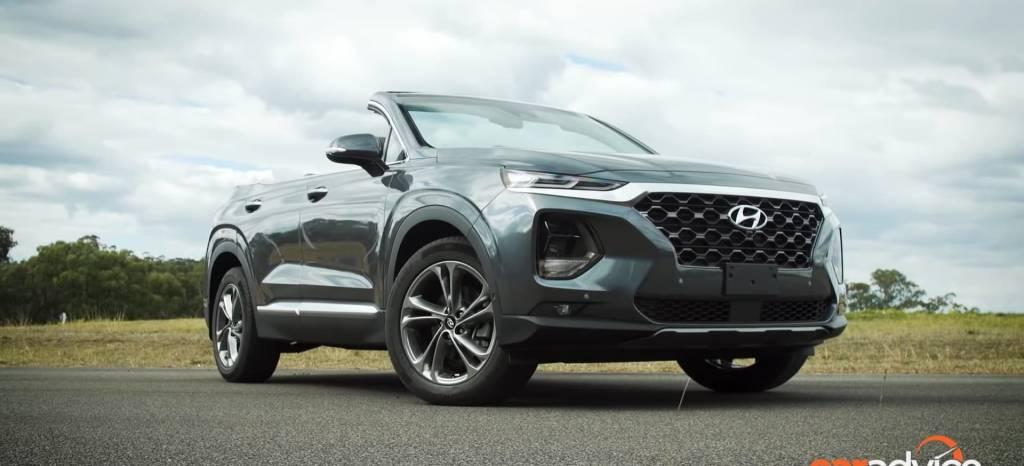 ¿Se han vuelto locos en Hyundai con este Hyundai Santa Fe descapotable?
