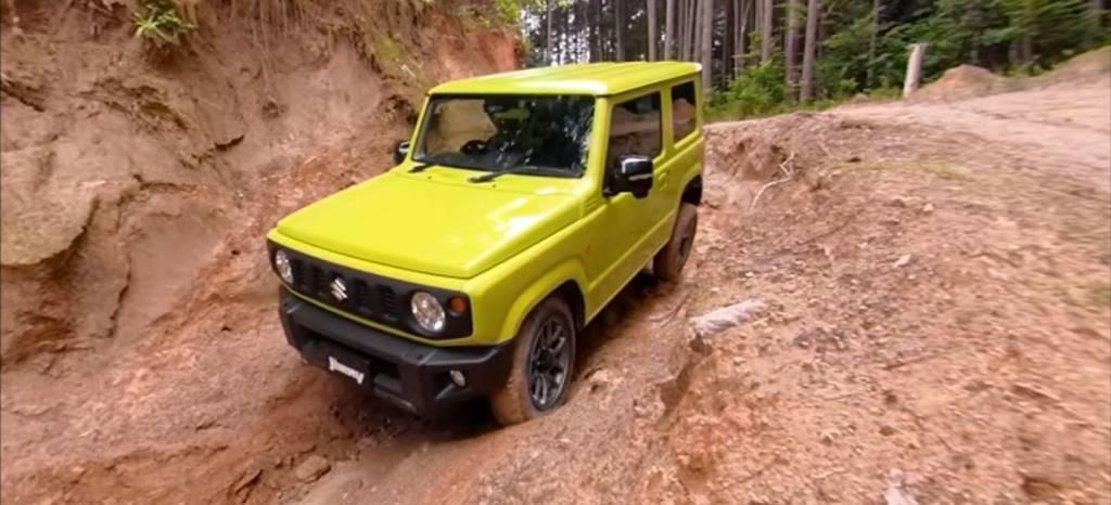 En vídeo: el Suzuki Jimny retoza en el barro y nos demuestra de qué es capaz